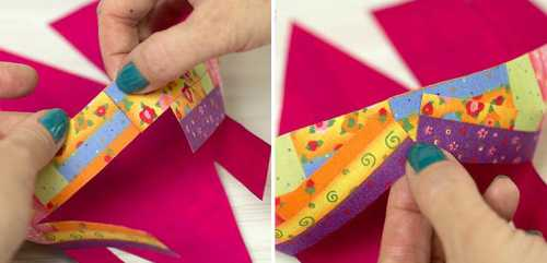 корзинка с цветами своими руками